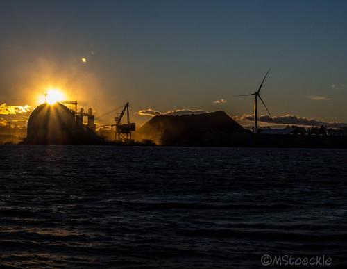 Sunset at the docks by MStoeckle via I {heart} Rhody