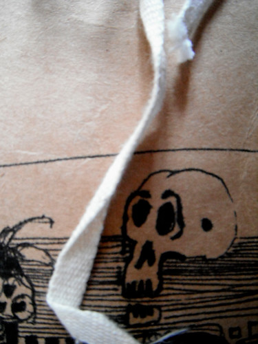 Storage Bag Skelly by The People In My Head