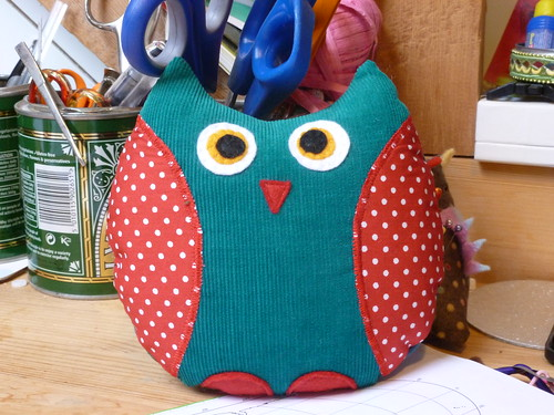 Owl from pattern by Retro Mama