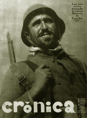Revista «Crónica» diciembre de 1936, foto Agustí Centelles i Ossó. by Octavi Centelles