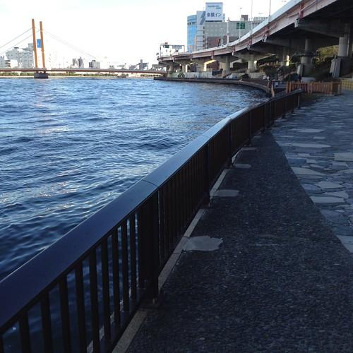 隅田川を下流に by haruhiko_iyota