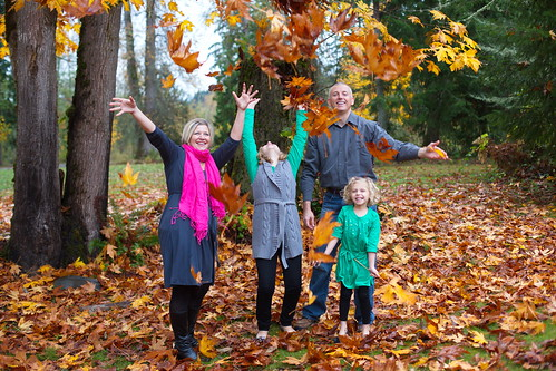 Falling leaves by The Bacher Family