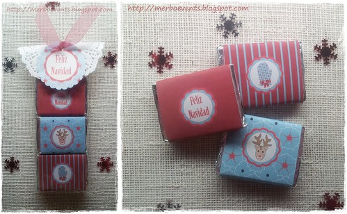 Kit imprimible Navidad Chocolatinas Merbo Events-horz