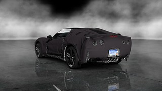 Chevrolet Corvette C7 Test Prototype Rear