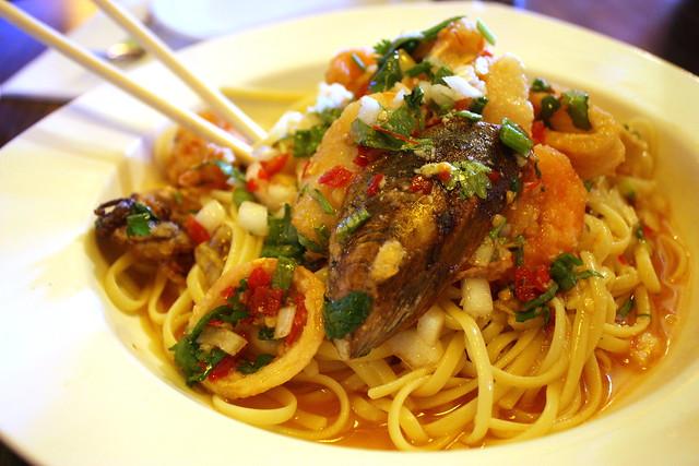 Seafood Thai Noodles
