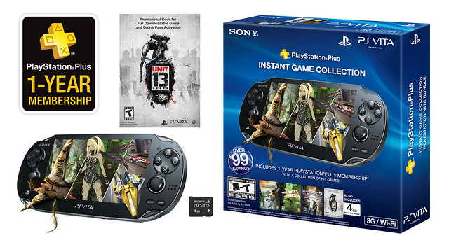 PS Vita Plus Bundle