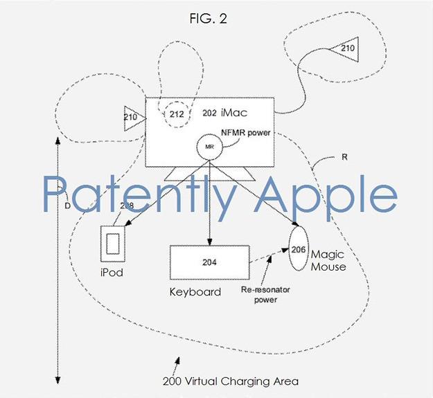 Patentes: Apple patenta un nuevo sistema de carga inalámbrica