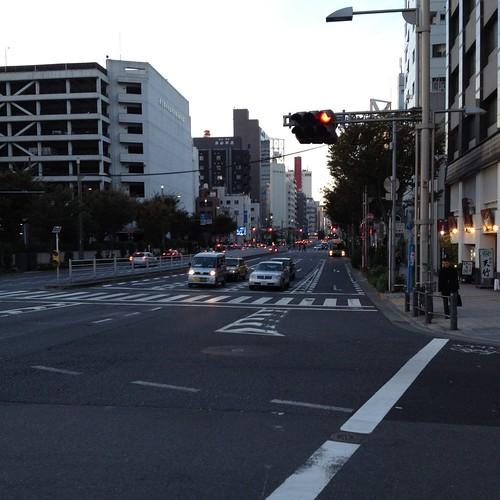 晴海通りを銀座へ by haruhiko_iyota