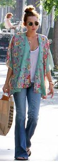 Miley Cyrus Orient Trend Celebrity Style Women's Fashion