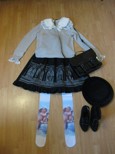 angel winter coord