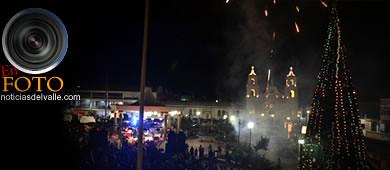 Inauguración de árbol navideño