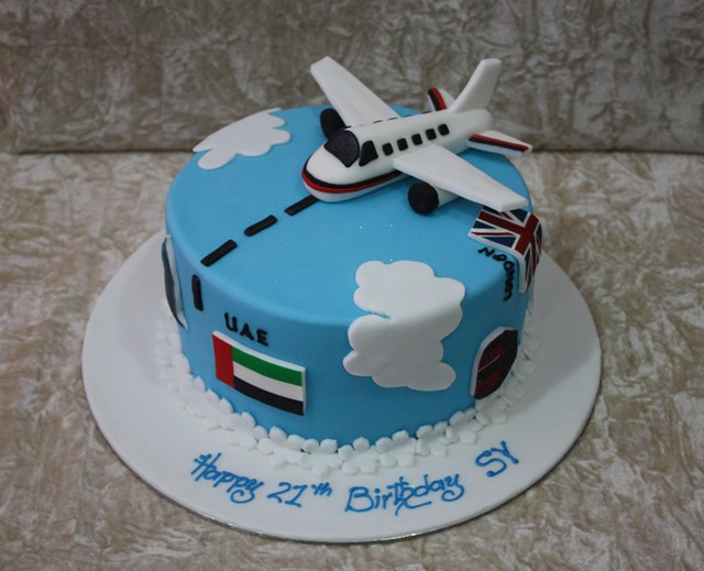 Images Of Plane Cake : cake with plane Flickr - Photo Sharing!