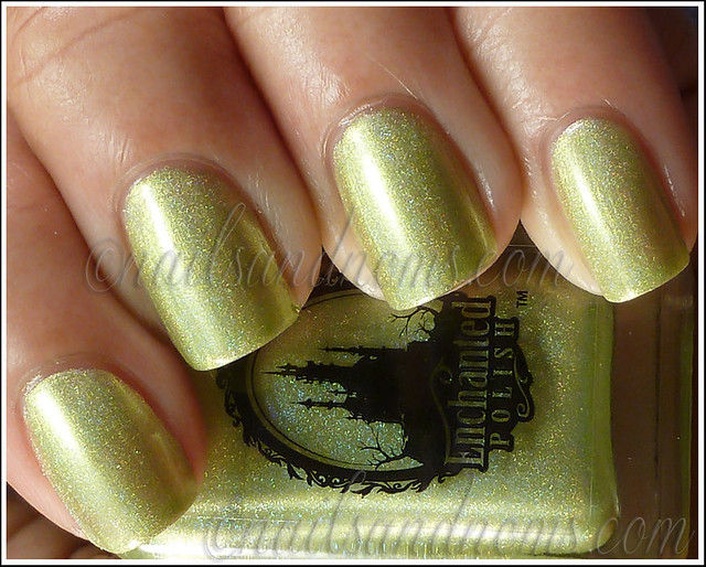 Enchanted Polish Ho Ho Holoday - Green Peace On Earth 1