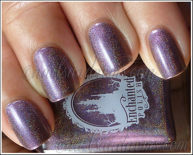 Enchanted Polish Ho Ho Holoday - Dance Of The Sugar Plum 1