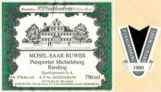1990 - Piesporter Michelsberg (Mosel)