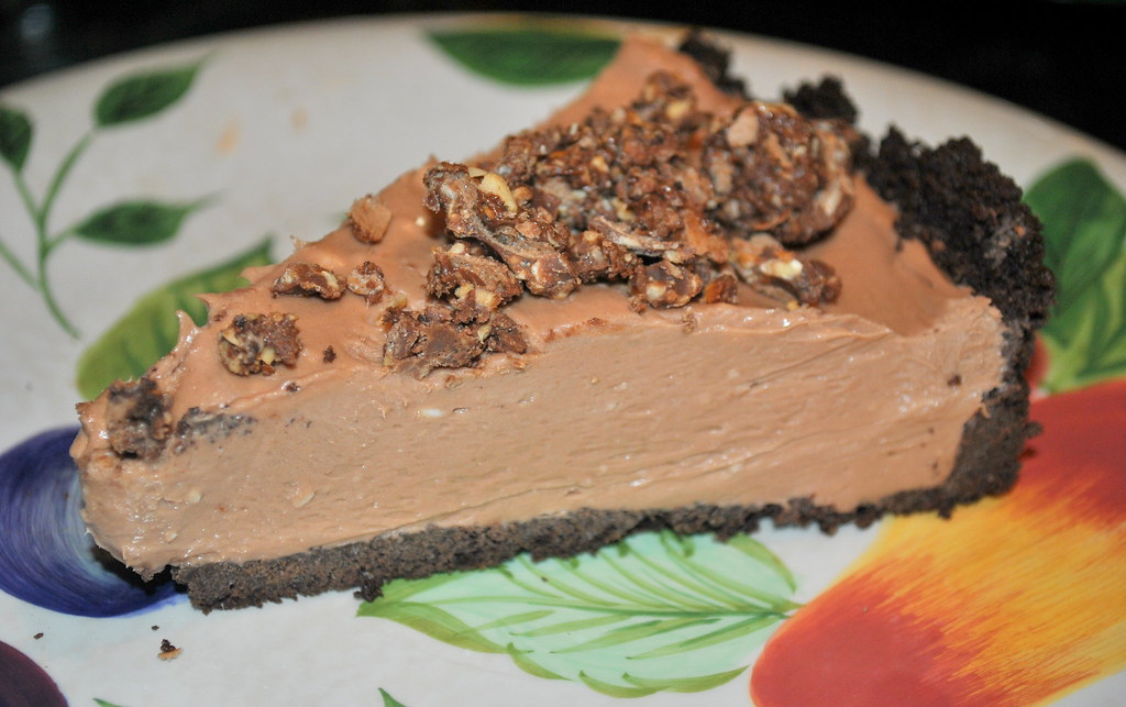 Currently Coveting: ..No Bake Nutella Cheesecake