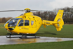G-NWAA - 2005 build Eurocopter EC135T2, Blackpool based Helimed visiting Barton