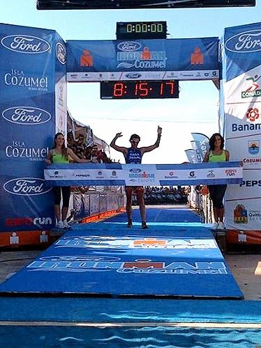 Ivan Raña ganador - Ironman Cozumel 2012