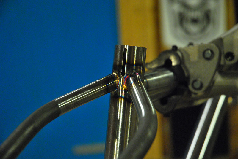 Patrick's Seat Stays Welded