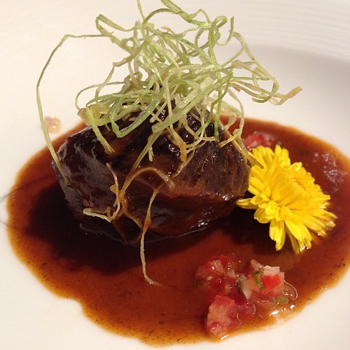 Braised Beef Cheeks with Red Wine #yum Available on rotational basis on the festive buffet line from 10 - 25 Dec #BeefyCheeky :P