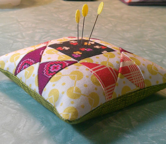 Pincushion for Heal @ do.Good Stitches Swap