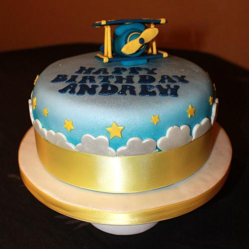 Birthday plane cake 01