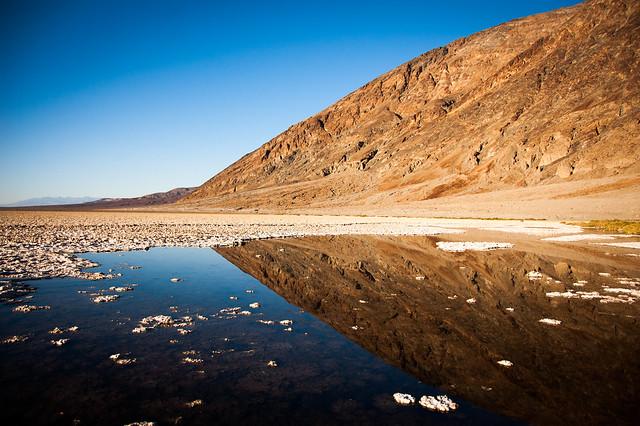 Salar de Badwater, Parque Nacional del Valle de la Muerte, California