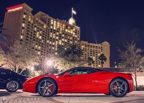 458 Rosso Corsa by Savage Land Pictures