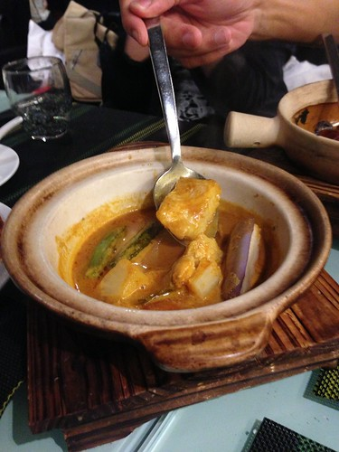 Asam Fish in Claypot