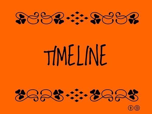Buzzword Bingo: Timeline