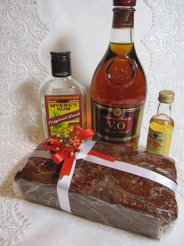 ダークフルーツケーキ・・・お酒がたくさん入っています^^ by Poran111