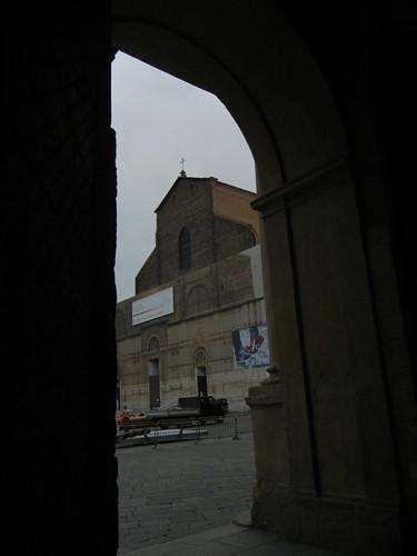 DSCN4495 _ Palazzo D'Accursio (Palazzo Comunale) and Basilica di San Petronio, Bologna, 18 October
