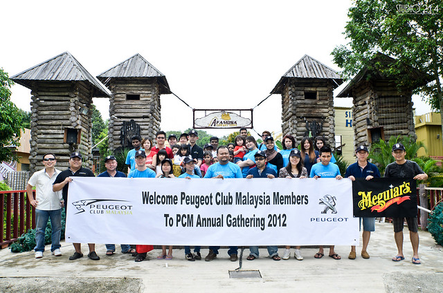 PCM Group Photo at Cowboy Town, A Famosa Resort, Malacca