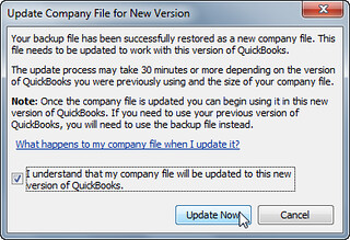 step 6 - open or restore quickbooks for landlords