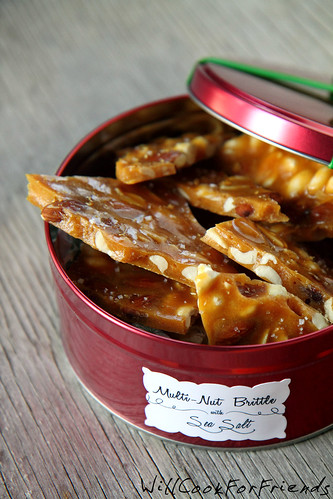 Multi-Nut Brittle with Sea Salt 1/4