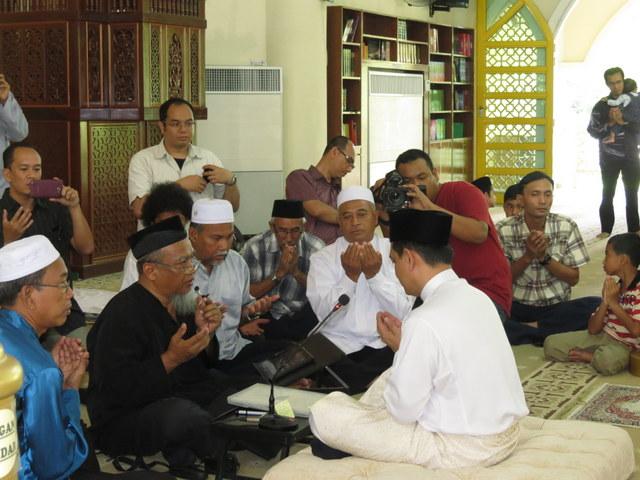 Majlis Akad Nikah Zakiah Anas