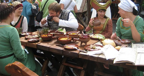 Medieval meal in Tallinn Old Town