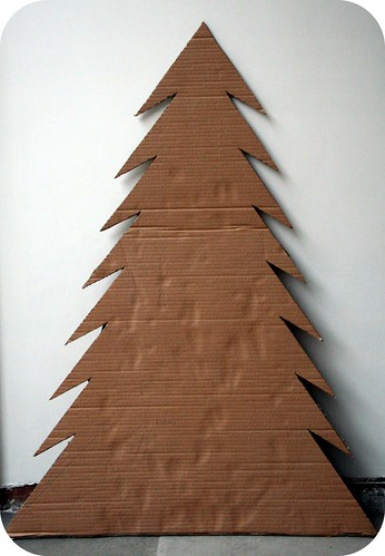 How To Make A Cardboard Christmas Tree Abfabulies