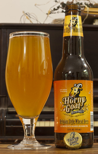 Horny Goat Belgian Style Wheat Beer  15/24 by Cody La Bière