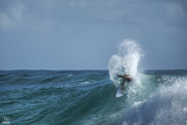 Surfing Burleigh #18