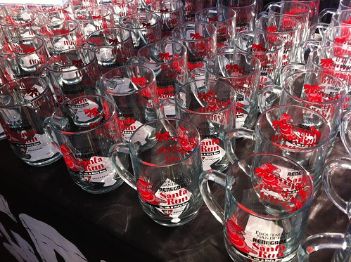 Renegade Santa Run Race Winner's Mugs