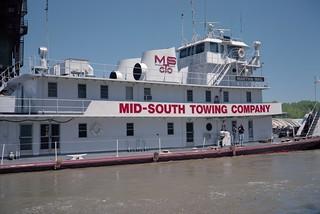 99d070: Martha Mac upbound on Ohio River at L&I Bridge