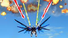 LEGO Freedom Gundam Full Burst mode