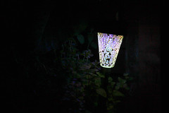 LED Gartenleuchte Mosaik