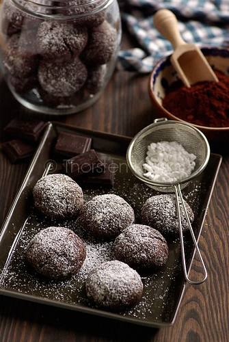 Spiced Cocoa-Coffee Cookies