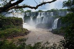 The falls at Iguazu National Park