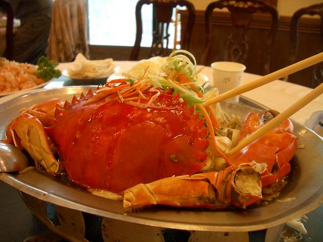 2005 聚餐的蟹