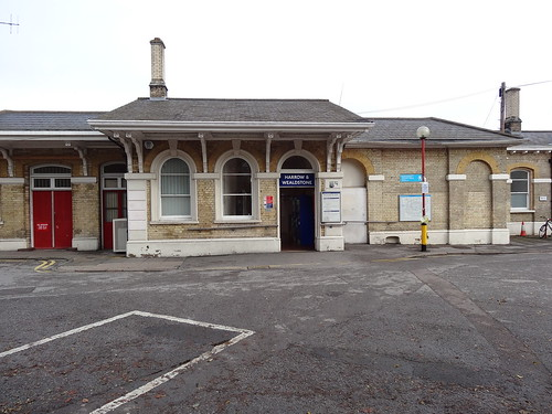 Side Entrance to Harrow & Wealdstone Station