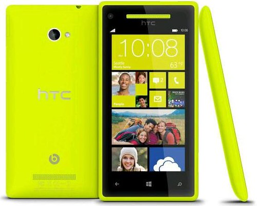 Windows Phone 8X by HTC Limelight