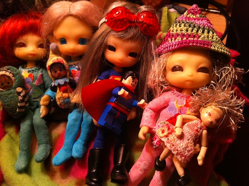 Jammy Party Wids Me Sista's Ans We Dollies by DollZWize